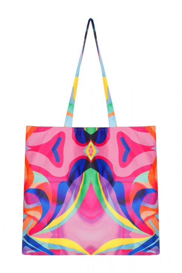 Large Size Graphic Tote Bag  TN