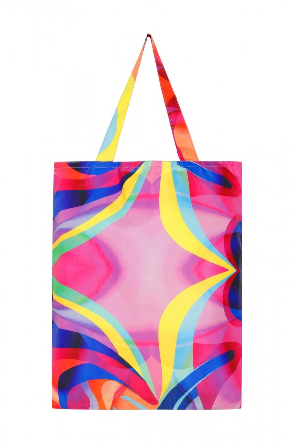 Small Size Graphic Tote Bag  TN