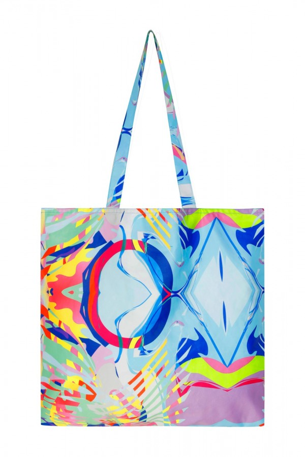Large Size Printed Tote Bag  TN