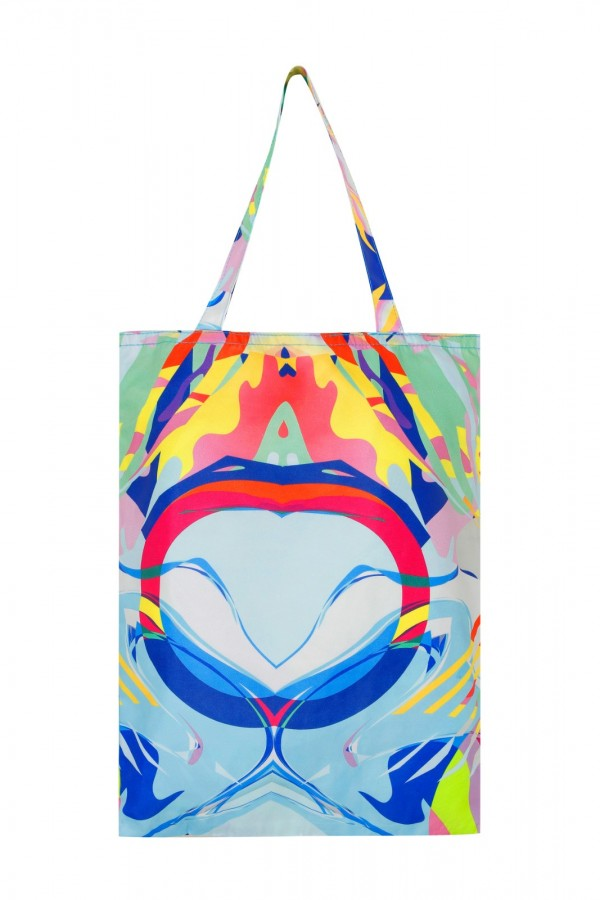 Small Size Printed Tote Bag  1