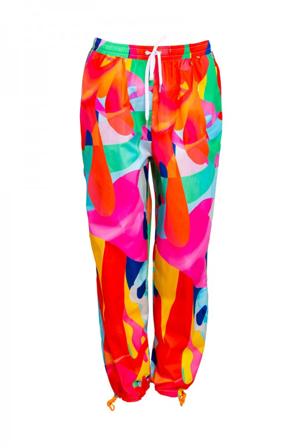 Printed lightweight track pants  TN