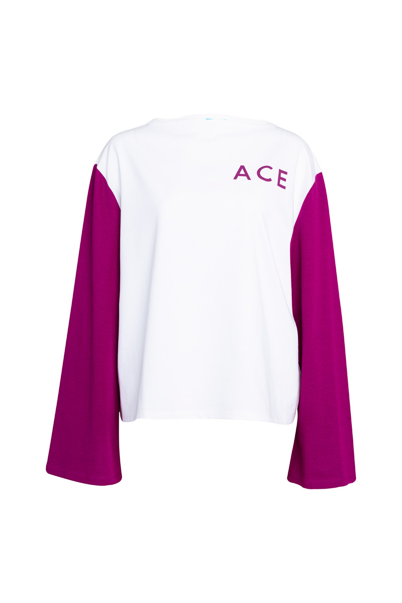 Multicolor long sleeve top  5
