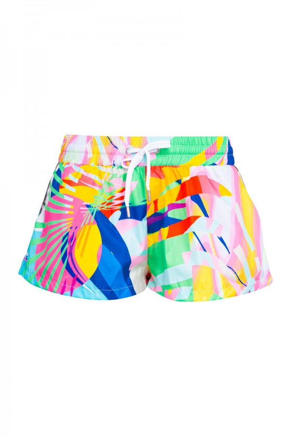 Graphic mini shorts TN