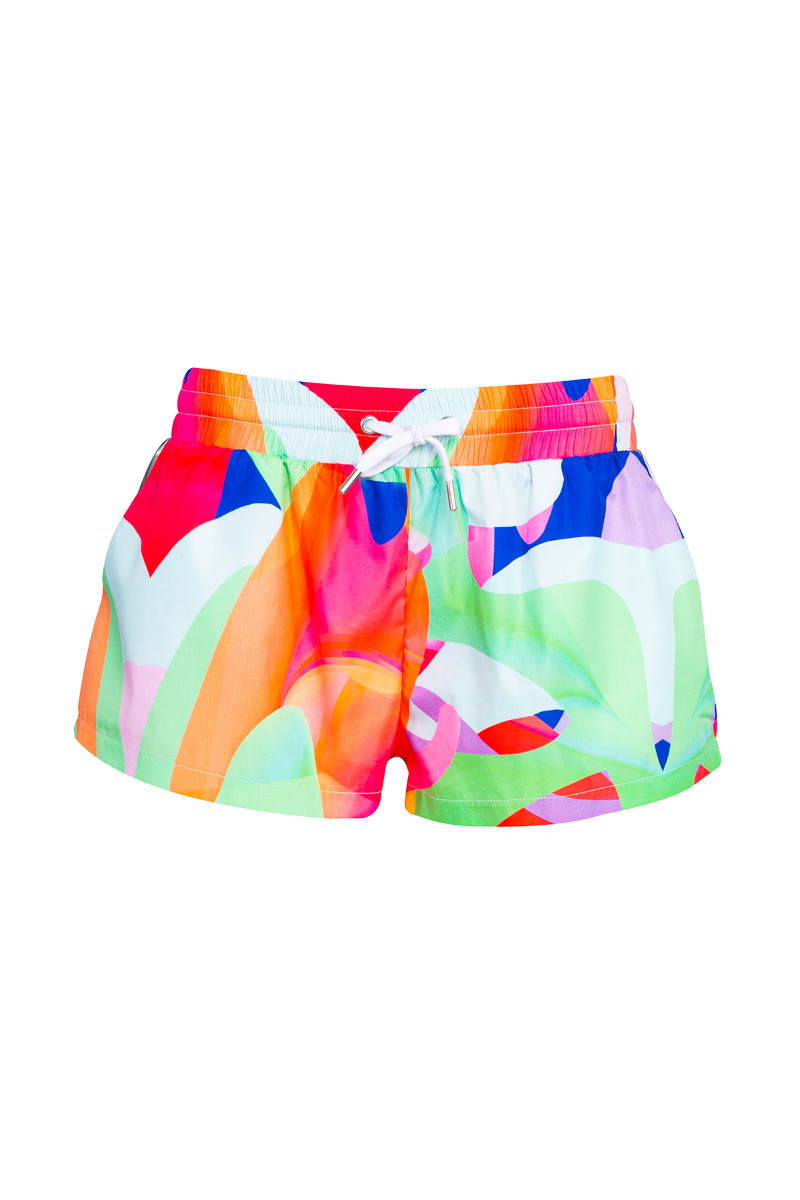 Graphic mini shorts 5
