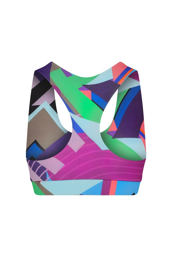 Cindy Graphic Crop Top 3