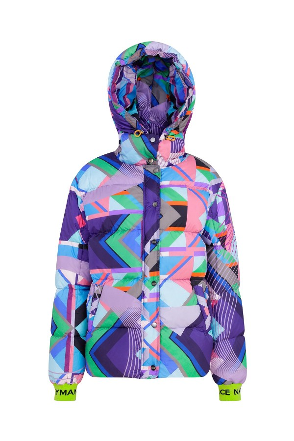 Morty Graphic Down Jacket TN