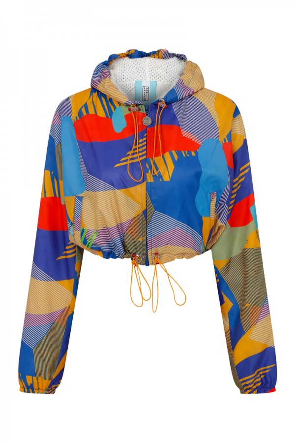 Lucy Graphic Short Jacket TN