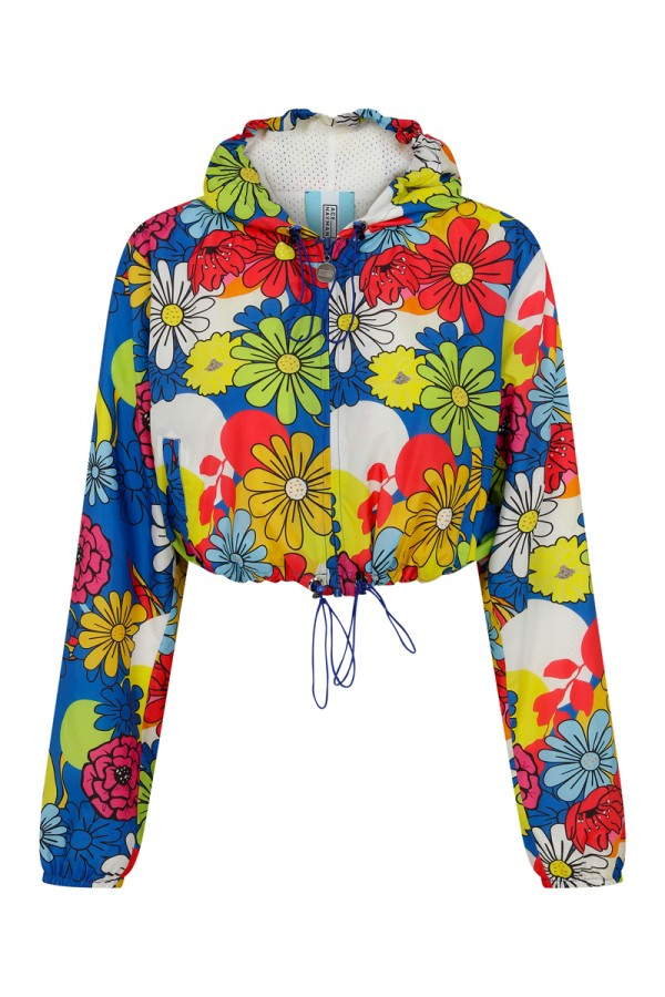 Lucy Floral Print Short Jacket TN