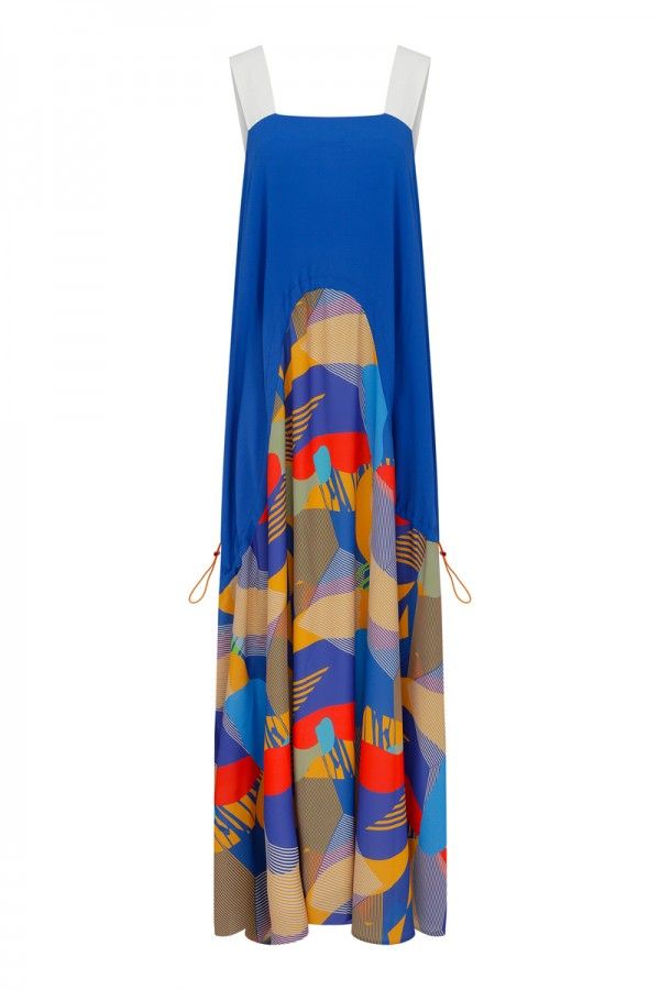 Simi Multicolor Maxi Dress TN