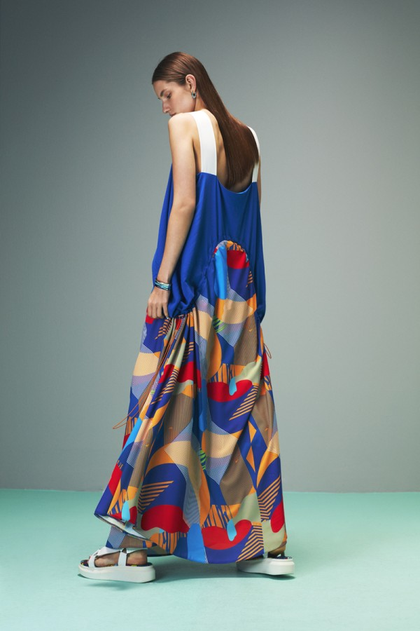Simi Multicolor Maxi Dress HOVER