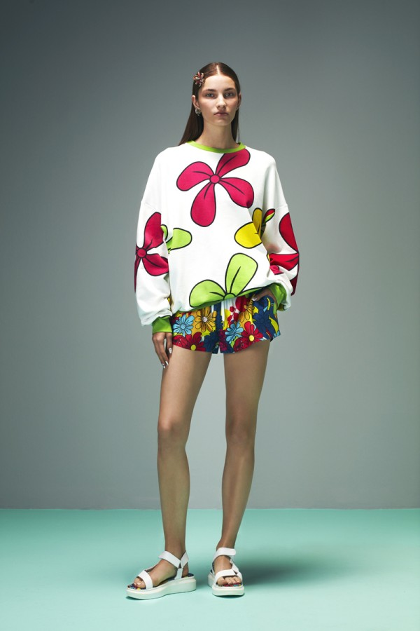 The Beg Floral Printed Sweatshirt HOVER